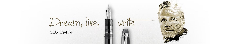 Pilot - Fine Writing - Custom 74 Black