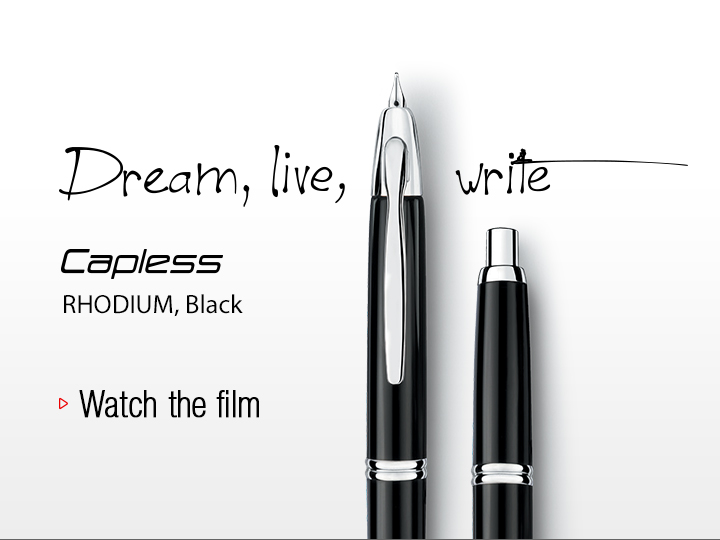 Dream, live, write
