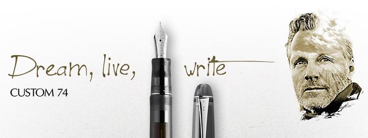 Custom 74 Black - Pilot Fine Writing