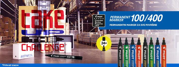 Permament Marker 100/400 Pilot