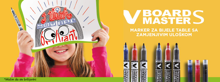 Pilot V-Board Master S Markeri