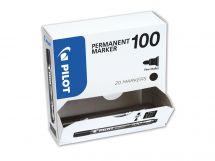 Permanent Marker 100 - Marker - XXL Pak - Crna - Tanki vrh