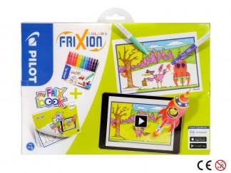 FriXion Colors - Set My FriX Book x 12 - Različite boje - Srednji vrh