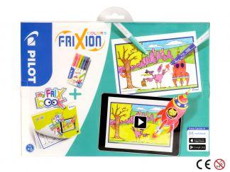 FriXion Colors - Set My FriX Book x 6 - Različite boje - Srednji vrh