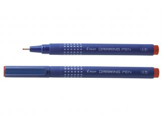Drawing Pen 08 - Fineliner flomaster - Crvena - Ekstra široki vrh