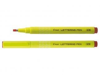 Lettering Pen 30 - Fineliner flomaster - Crvena - Široki vrh