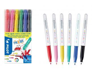 FriXion Colors - Set of 6 - Različite boje - Srednji vrh