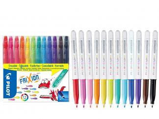 FriXion Colors - Set od 12 - Različite boje - Srednji vrh